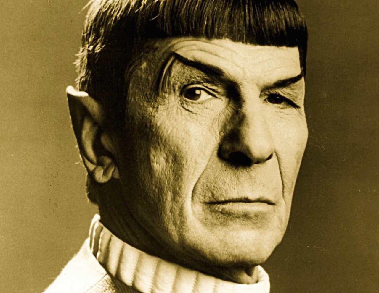 Mr Spock spelas av Leonard Nimoy Film: Star Trek